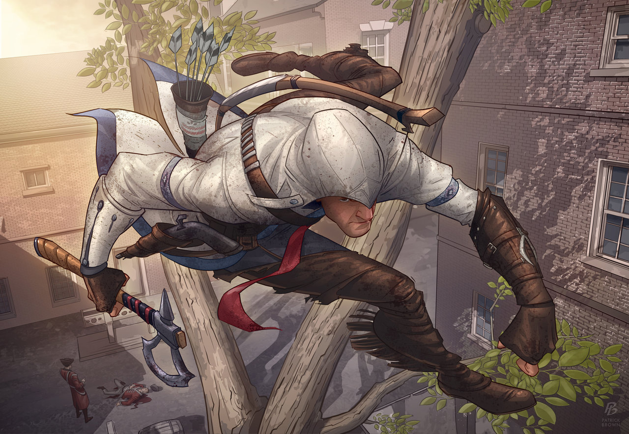 Assassins Creed 3 Fan Art Fribly