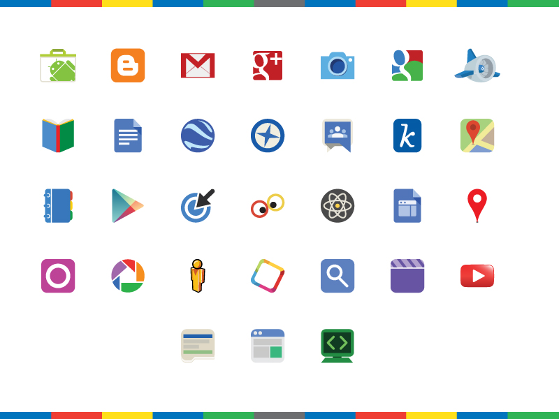 google products logos icons fribly