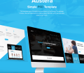 Austera Free Website Template