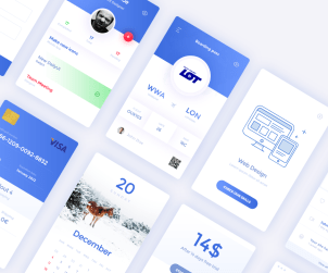Daily UI Elements a Free UI Kit