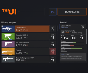 The Division UI Kit