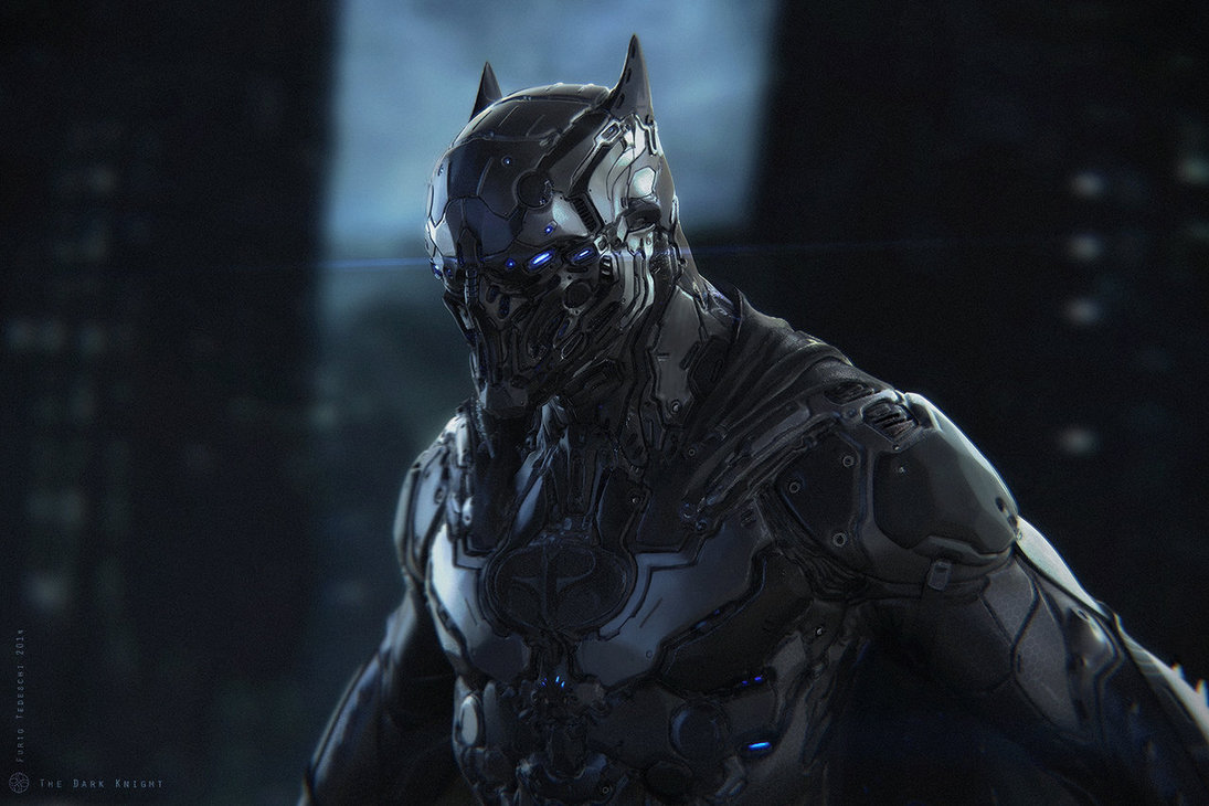 The Dark Knight - Digital Art - Fribly