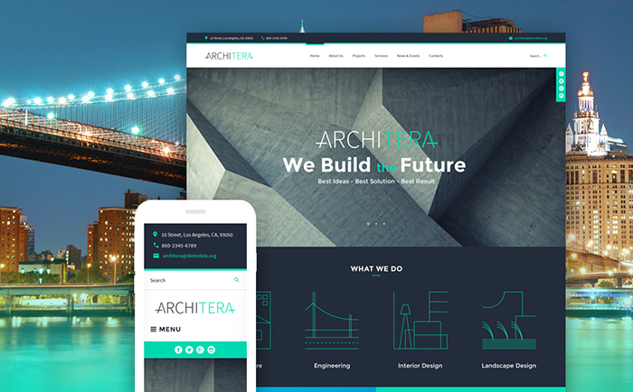 Architecture Company WP Theme