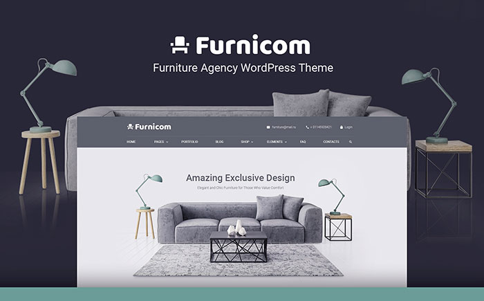 Furniture Store WP Theme