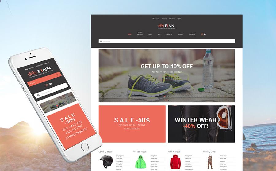 Extreme Sports Store Responsive Shopify Theme