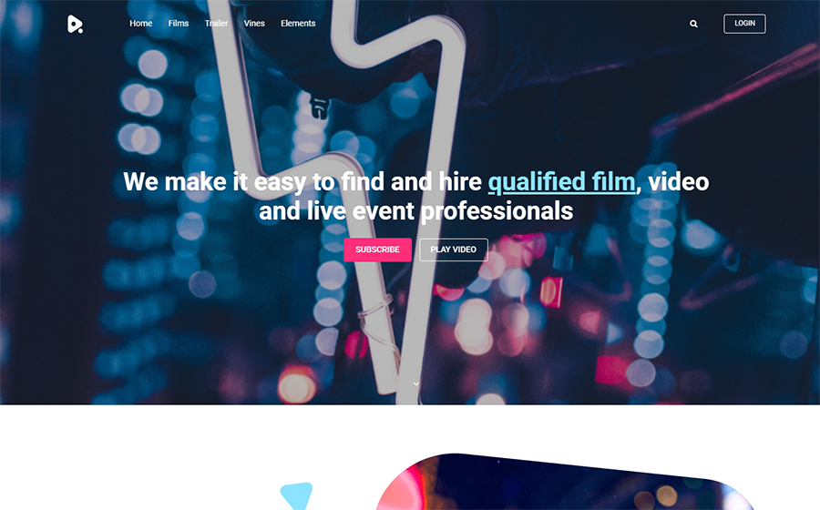 YouMovie - Videography Elementor WordPress Theme