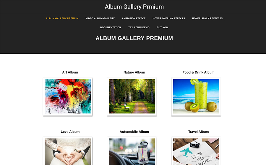 Album Gallery WordPress Plugin