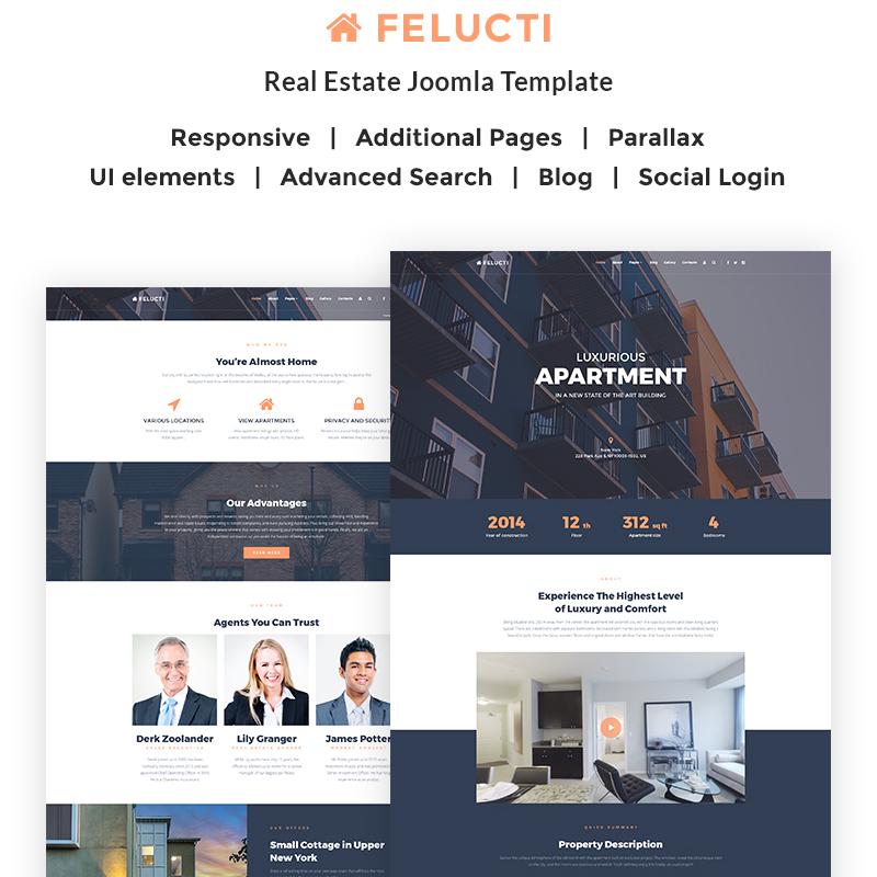Felucti - Real Estate Joomla Template