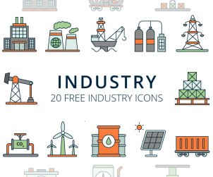 Free Industry Vector Icons