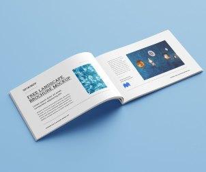 Free Landscape Catalogue Mockup