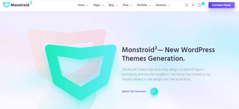 Monstroid2 WordPress Elementor theme