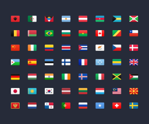 Beautiful Flag Icons