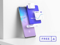 Free Android Smartphone Mockup