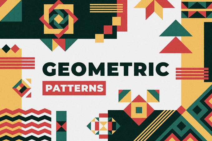 Free Vector Geometric Patterns