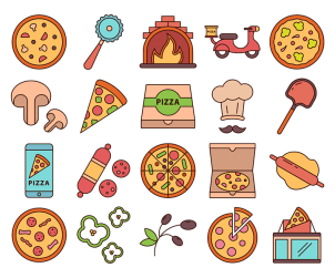 Pizza Free Vector Icons