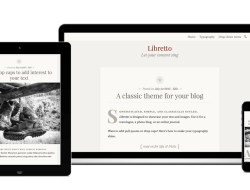 One-Column Responsive WordPress Theme