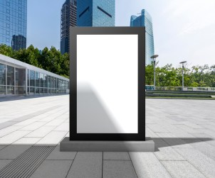 Outdoor Office Billboard Mockup