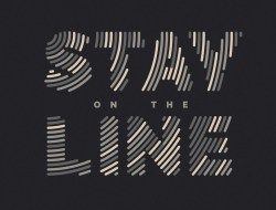 Fill Text with Lines in Illustrator