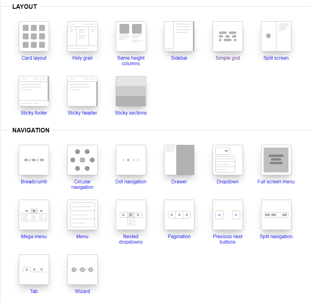 Layouts & Patterns in Pure CSS
