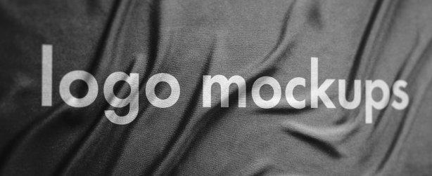 Paper & Fabric Logo Mockup