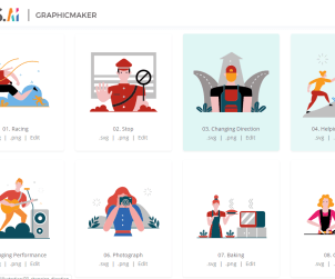 Designs.ai Free Customizable Illustrations