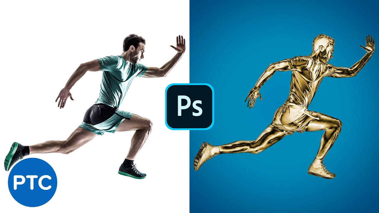 Turn Photos Into Gold Statues