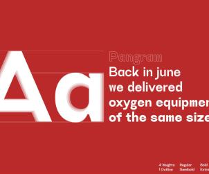 Acworth Sans Serif Font
