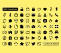 Basil Minimalistic Icon Set