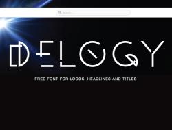 Free Futuristic Display Font