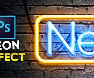 Neon Text Effect Tutorial