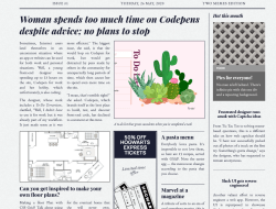 Newspaper Layout with CSS Grid