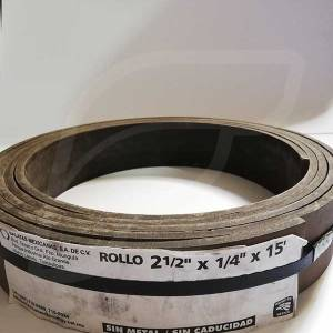 Friccion de Rollo 2 1/2 x 1/4