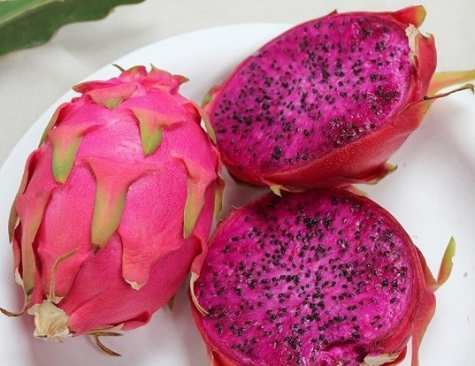 purple dragon fruit