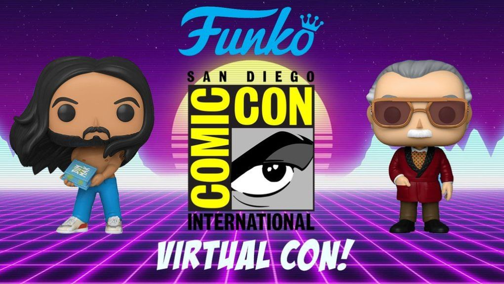 Convention Funko Pop SDCC 2020