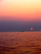 Sunset at Baltic Sea.