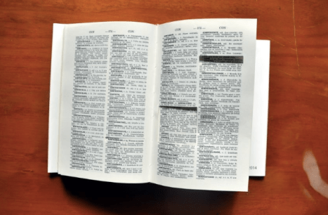 Dictionary without the possibility of fleeing