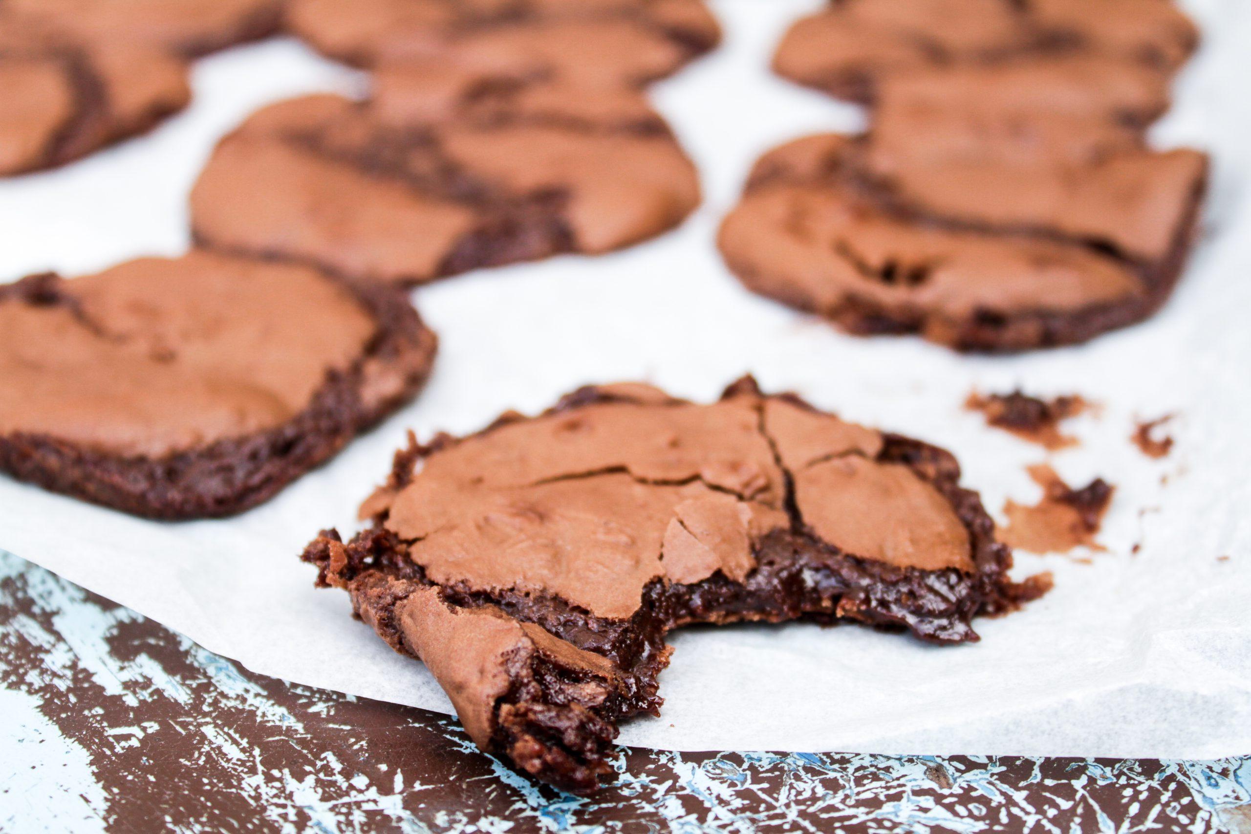 Kladdkakscookies