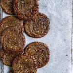 Brownie cookies med salt kola2