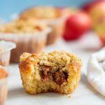 äppelmuffins med smul