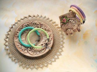 Bracciali con gancio MilleGiri Basic - Collezione Pastello Primavera 2016 by FridaWer