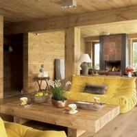 პოლონეთი: თანამედროვე ხის სახლის დიზაინი