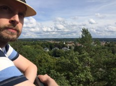 Husband Ola and Alingsås town