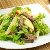 ქათმის ღვიძლის სალათი