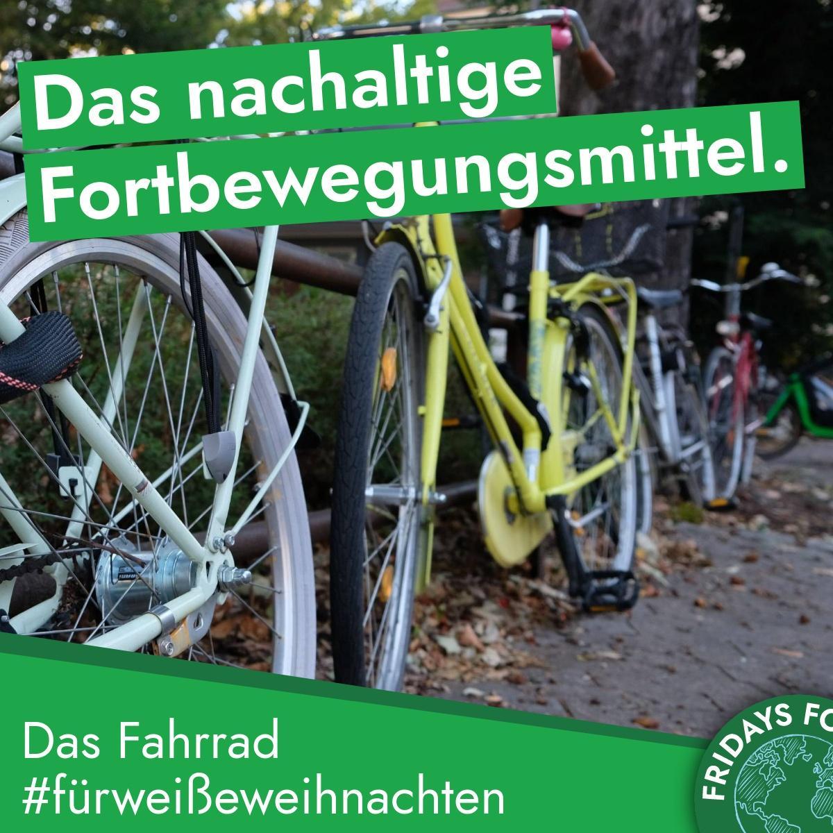 Türchen 10: Das Fahrrad ist die gesündeste und klimafreundlichste Alternative zum Auto