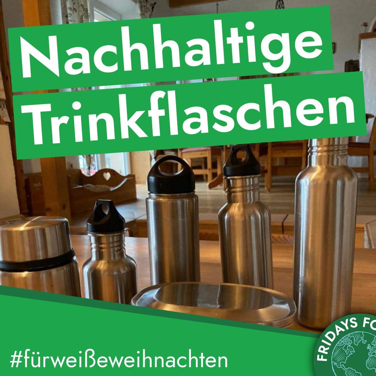Türchen 22: Nachhaltige Trinkflaschen