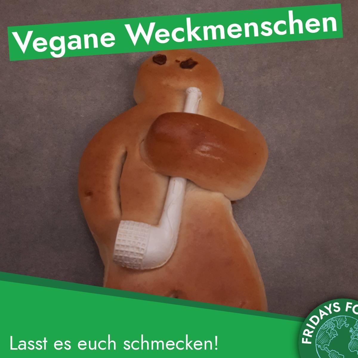 Türchen 4: Rezept für vegane Weckmenschen