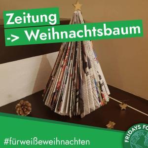 Türchen 5: Upcycling-Weihnachtsbaum
