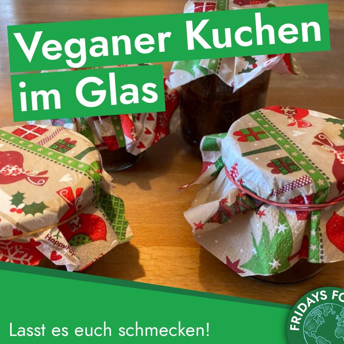 Türchen 9: Schneller veganer Kuchen im Glas