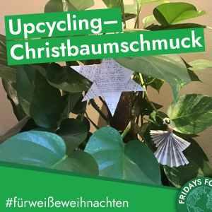 Türchen 12: Anleitung für selbstgemachten nachhaltigen Christbaumschmuck