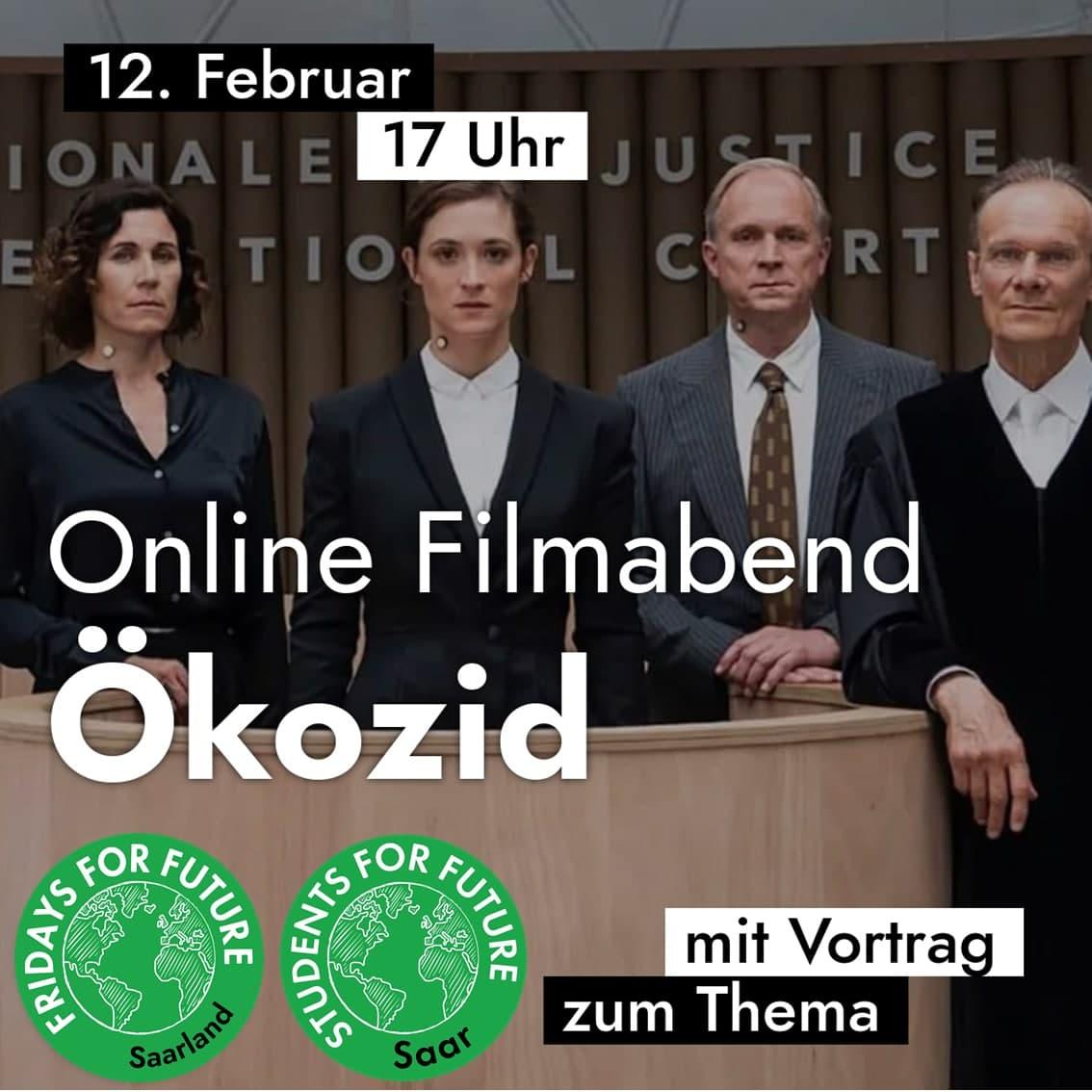 Online Filmeabend Ökozid